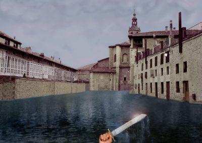 el lago del machete