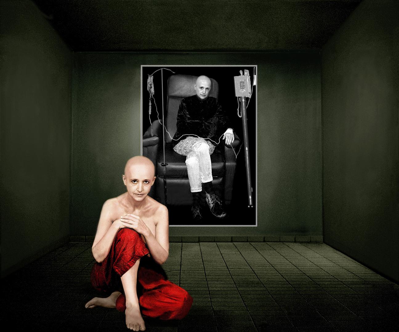 6 fotos, 6 sesiones de quimioterapia